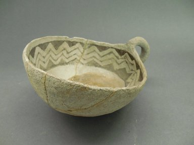 Ancient Pueblo (Anasazi). <em>Bowl</em>, Pueblo I or II. Clay, slip Brooklyn Museum, Gift of Mrs. E.D. Stone, 32.2093.31386. Creative Commons-BY (Photo: Brooklyn Museum, CUR.32.2093.31386_view1.jpg)