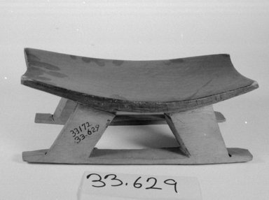 Tukano. <em>Bench</em>. Wood Brooklyn Museum, Museum Expedition 1933, Purchased with funds given by Jesse Metcalf, 33.629. Creative Commons-BY (Photo: Brooklyn Museum, CUR.33.629_bw.jpg)