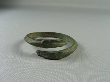 Greek. <em>Bracelet</em>. Bronze Brooklyn Museum, Charles Edwin Wilbour Fund, 34.1206. Creative Commons-BY (Photo: Brooklyn Museum, CUR.34.1206_view02.jpg)