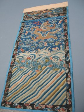 <em>Table Hanging</em>, 19th century. Silk, 17 5/16 x 36 5/8 in. (44 x 93 cm). Brooklyn Museum, Brooklyn Museum Collection, 34.1319. Creative Commons-BY (Photo: Brooklyn Museum, CUR.34.1319.jpg)