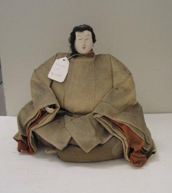 <em>Doll - Man</em>. Silk, 10 5/8 x 11 13/16 x 6 11/16 in. (27 x 30 x 17 cm). Brooklyn Museum, Brooklyn Museum Collection, 34.1327. Creative Commons-BY (Photo: Brooklyn Museum, CUR.34.1327_view1.jpg)