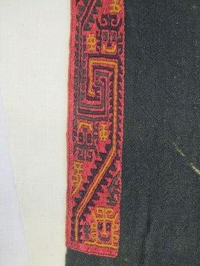 Paracas. <em>Loincloth</em>, 200-600 C.E. Camelid fiber, 39 x 17 11/16in. (99 x 45cm). Brooklyn Museum, Alfred W. Jenkins Fund, 34.1540. Creative Commons-BY (Photo: Brooklyn Museum, CUR.34.1540_detail01.jpg)