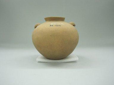 <em>Jar</em>, 1000-1520. Ceramic, 4 1/4 x 5 1/4 x 5 1/4 in. (10.8 x 13.3 x 13.3 cm). Brooklyn Museum, Alfred W. Jenkins Fund, 34.1818. Creative Commons-BY (Photo: Brooklyn Museum, CUR.34.1818.jpg)