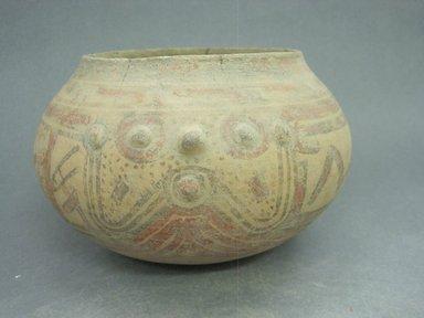 <em>Bowl</em>, 1000-1350. Ceramic, 5 1/8 x 7 x 6 1/4 in. (13 x 17.8 x 15.9 cm). Brooklyn Museum, Alfred W. Jenkins Fund, 34.3197. Creative Commons-BY (Photo: Brooklyn Museum, CUR.34.3197.jpg)