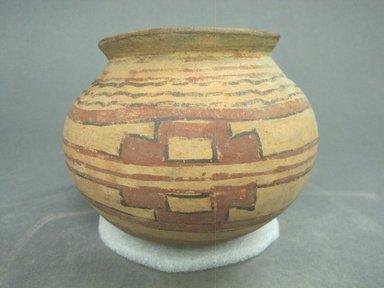 <em>Jar</em>, 1000-1500. Ceramic, 4 1/2 x 4 1/2 x 4 1/2 in. (11.4 x 11.4 x 11.4 cm). Brooklyn Museum, Alfred W. Jenkins Fund, 34.3500. Creative Commons-BY (Photo: Brooklyn Museum, CUR.34.3500.jpg)