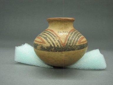 <em>Jar</em>, 1000-1500. Ceramic, 4 3/4 x 5 1/2 x 5 1/2 in. (12 x 14 x 14 cm). Brooklyn Museum, Alfred W. Jenkins Fund, 34.3562. Creative Commons-BY (Photo: Brooklyn Museum, CUR.34.3562_view1.jpg)