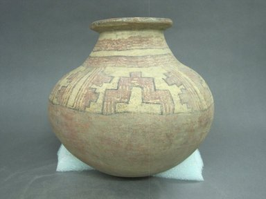 <em>Jar</em>, 1000-1500. Ceramic, 11 1/8 x 9 13/16 x 10 in. (28.3 x 25 x 25.4 cm). Brooklyn Museum, Alfred W. Jenkins Fund, 34.4211. Creative Commons-BY (Photo: Brooklyn Museum, CUR.34.4211.jpg)