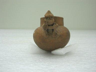 <em>Miniature Jar</em>, 1000-1550. Ceramic, 2 15/16 x 3 1/4 x 2 1/2 in. (7.5 x 8.3 x 6.4 cm). Brooklyn Museum, Alfred W. Jenkins Fund, 34.4348. Creative Commons-BY (Photo: Brooklyn Museum, CUR.34.4348.jpg)