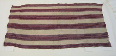 <em>Textile</em>, early 20th century. Cotton, 31 11/16 x 63 1/2 in. (80.5 x 161.3 cm). Brooklyn Museum, Alfred W. Jenkins Fund, 34.5563. Creative Commons-BY (Photo: Brooklyn Museum, CUR.34.5563.jpg)