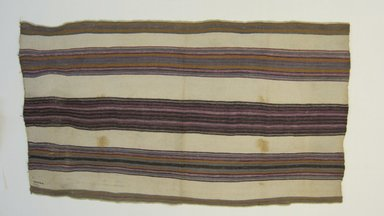 <em>Garment; Woman's hip wrapper</em>, early 20th century. Cotton, 33 3/16 x 57 5/8 in. (84.3 x 146.4 cm). Brooklyn Museum, Alfred W. Jenkins Fund, 34.5566. Creative Commons-BY (Photo: Brooklyn Museum, CUR.34.5566.jpg)