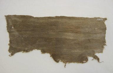 <em>Textile Fragment, undetermined</em>, 1532-1700 or Undetermined. Cotton, 8 1/2 × 19 9/16 in. (21.6 × 49.7 cm). Brooklyn Museum, Gift of Dr. Harris Kennedy, 35.1983. Creative Commons-BY (Photo: Brooklyn Museum, CUR.35.1983.jpg)