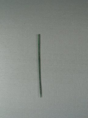 <em>Needle</em>, ca. 1352-1332 B.C.E. Bronze, Diam. 1/16 × 3 7/8 in. (Diam. 0.2 × 9.9 cm). Brooklyn Museum, Gift of the Egypt Exploration Society, 35.2009. Creative Commons-BY (Photo: , CUR.35.2009_view01.jpg)