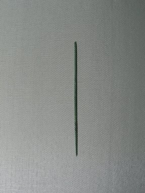 <em>Needle</em>, ca. 1352-1332 B.C.E. Bronze, 1/16 × 4 7/16 in. (Diam. 0.2 × 11.2 cm). Brooklyn Museum, Gift of the Egypt Exploration Society, 35.2011. Creative Commons-BY (Photo: , CUR.35.2011_view01.jpg)