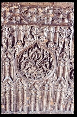 <em>Front Panel of a Chest</em>, late 15th century. Baywood, 26 1/2 x 47 3/4 x 21 1/2 in. (67.3 x 121.3 x 54.6 cm). Brooklyn Museum, Gift of Mr. and Mrs. Frederic B. Pratt, 36.211. Creative Commons-BY (Photo: Brooklyn Museum, CUR.36.211_detail.jpg)