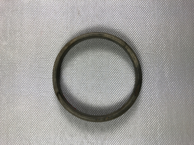 <em>Bracelet</em>. Stone (flint or slate), 5/16 × 3/16 × 2 9/16 in. (0.8 × 0.4 × 6.5 cm). Brooklyn Museum, Charles Edwin Wilbour Fund, 36.263. Creative Commons-BY (Photo: , CUR.36.263_view01.jpg)