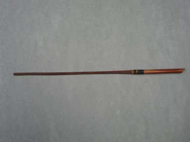 <em>Foreshaft of an Arrow</em>. Reed, resin, Diam. 5/16 x 11 1/4 in. (0.8 x 28.5 cm). Brooklyn Museum, Charles Edwin Wilbour Fund, 37.1065E. Creative Commons-BY (Photo: Brooklyn Museum, CUR.37.1065E_view1.jpg)