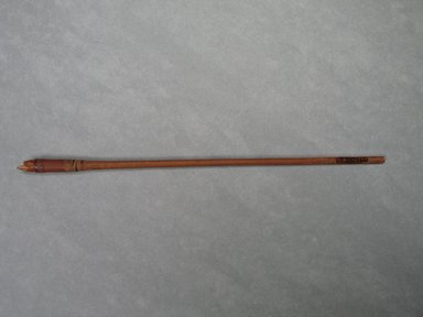 <em>Foreshaft of an Arrow</em>. Reed, Diam. 5/16 x 8 15/16 in. (0.8 x 22.7 cm). Brooklyn Museum, Charles Edwin Wilbour Fund, 37.1066E. Creative Commons-BY (Photo: Brooklyn Museum, CUR.37.1066E_view1.jpg)