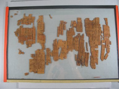 <em>Sheet from a Book of the Dead</em>. Papyrus, ink Brooklyn Museum, 37.1699Eb. Creative Commons-BY (Photo: Brooklyn Museum, CUR.37.1699Eb_view2.jpg)