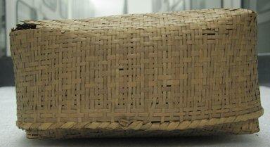 <em>Small Double Storage Basket</em>, early 20th century. Vegetal fiber, (17.0 x 8.0 x 12.5 cm). Brooklyn Museum, Gift of Mrs. Frederic B. Pratt, 37.204a-b. Creative Commons-BY (Photo: Brooklyn Museum, CUR.37.204a-b_side.jpg)