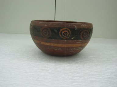 Aztec. <em>Bowl</em>, ca. 1325-1500. Ceramic, pigment Brooklyn Museum, 37.239. Creative Commons-BY (Photo: Brooklyn Museum, CUR.37.239_view1.jpg)