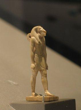 <em>Ibis-Headed Thoth</em>, ca. 1539-1292 B.C.E. Ivory, 2 7/16 x 11/16 x 7/8 in. (6.2 x 1.8 x 2.3 cm). Brooklyn Museum, Charles Edwin Wilbour Fund, 37.255E. Creative Commons-BY (Photo: Brooklyn Museum, CUR.37.255E_erg456.jpg)