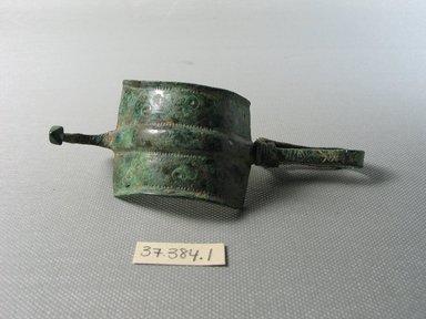 Greek. <em>Fibula</em>, ca. 450-400 B.C.E. Bronze Brooklyn Museum, Museum Collection Fund, 37.384.1. Creative Commons-BY (Photo: Brooklyn Museum, CUR.37.384.1_view01.jpg)