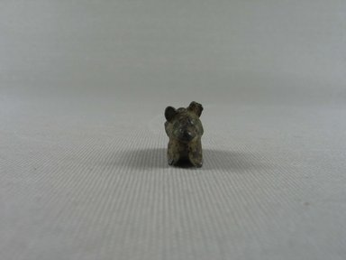 <em>Small Statuette of a Mouse</em>. Bronze, 5/8 x 1/2 x 1 in. (1.6 x 1.2 x 2.5 cm). Brooklyn Museum, Charles Edwin Wilbour Fund, 37.558E. Creative Commons-BY (Photo: Brooklyn Museum, CUR.37.558E_front.jpg)