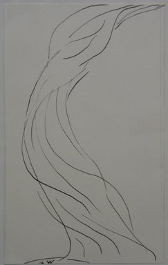 Abraham Walkowitz (American, born Russia, 1878-1965). <em>Dancing Figure</em>, n.d. Pen and ink on paper mounted to paper, Sheet (mount): 8 7/16 x 11 in. (21.4 x 27.9 cm). Brooklyn Museum, Gift of the artist, 39.469b (Photo: Brooklyn Museum, CUR.39.469b.jpg)
