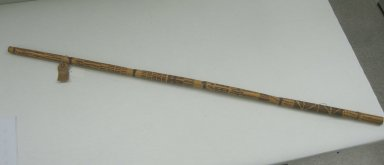 Huichol (Wixárika). <em>Serpent Stick</em>. Bamboo, pigment, 1 x 1 x 50 in. (2.5 x 2.5 x 127 cm). Brooklyn Museum, Ella C. Woodward Memorial Fund, 40.730. Creative Commons-BY (Photo: Brooklyn Museum, CUR.40.730.jpg)