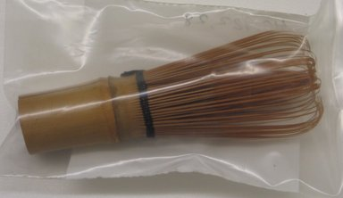<em>Whisk, Probably for Tea</em>. Bamboo, length: 4 1/4 in. Brooklyn Museum, Brooklyn Museum Collection, 40.928.28. Creative Commons-BY (Photo: Brooklyn Museum, CUR.40.928.28.jpg)