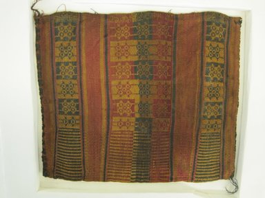 Inca/Moquegua. <em>Bag</em>, 1400-1532. Cotton, 11 7/16 x 11 in. (29 x 28 cm). Brooklyn Museum, Museum Expedition 1941, Frank L. Babbott Fund, 41.1275.135. Creative Commons-BY (Photo: Brooklyn Museum, CUR.41.1275.135.jpg)