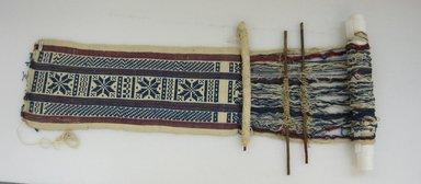 <em>Loom</em>, 20th century. Cotton, wood Brooklyn Museum, Museum Expedition 1941, Ella C. Woodward Memorial Fund, 41.1310.60. Creative Commons-BY (Photo: Brooklyn Museum, CUR.41.1310.60.jpg)