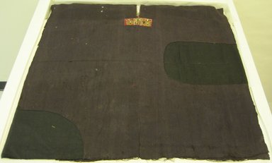 Tiwanaku. <em>Poncho or Tunic</em>, 600-1000 C.E. Camelid fiber, 33 7/8 x 35 1/16in. (86 x 89cm). Brooklyn Museum, A. Augustus Healy Fund, 42.156. Creative Commons-BY (Photo: Brooklyn Museum, CUR.42.156.jpg)