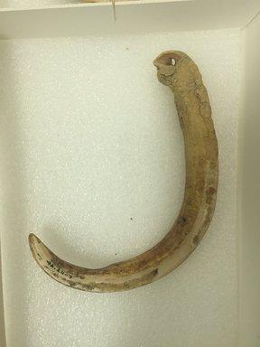 Marquesan. <em>Ornament</em>, before 1938. Bone, 9/16 x 5 5/16 in. (1.5 x 13.5 cm). Brooklyn Museum, A. Augustus Healy Fund, 42.211.7. Creative Commons-BY (Photo: Brooklyn Museum, CUR.42.211.7.jpg)