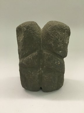 Marquesan. <em>Figure (Tiki Ke'a)</em>, before 1938. Stone, 4 5/16 x 2 13/16 x 1 15/16 in. (11 x 7.2 x 5 cm). Brooklyn Museum, A. Augustus Healy Fund, 42.211.89. Creative Commons-BY (Photo: Brooklyn Museum, CUR.42.211.89.jpg)