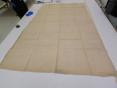 Marquesan. <em>Loin Cloth</em>, before 1938. Barkcloth, a: 84 13/16 × 54 1/16 in. (215.5 × 137.3 cm). Brooklyn Museum, A. Augustus Healy Fund, 42.211.98a-b. Creative Commons-BY (Photo: , CUR.42.211.98b_view01.jpg)