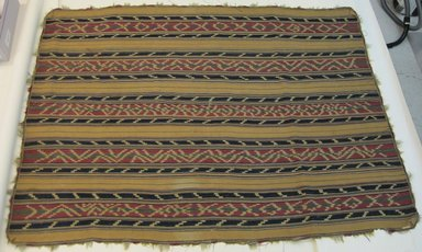 Aymara. <em>Poncho</em>, pre-1850 (possibly). Camelid fiber, 60 x 80 1/2 in. (152.4 x 204.5 cm). Brooklyn Museum, Gift of Percy C. Madeira, Jr., 42.244.1. Creative Commons-BY (Photo: Brooklyn Museum, CUR.42.244.1.jpg)