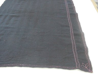 Quichua. <em>Otavalo Woman's Outfit</em>, ca. 1940. Cotton, wool, felt, (a) blouse: 44 1/2 x 32 1/2 in. (113 x 82.6 cm). Brooklyn Museum, Frank L. Babbott Fund, 42.385a-g. Creative Commons-BY (Photo: Brooklyn Museum, CUR.42.385c.jpg)
