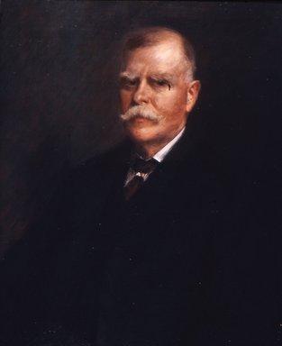 William Merritt Chase (American, 1849-1916). <em>Carll H. de Silver</em>, ca. 1909. Oil on canvas, 29 7/8 x 24 15/16 in. (75.9 x 63.4 cm). Brooklyn Museum, Gift of Margaret de Silver, 43.139 (Photo: Brooklyn Museum, CUR.43.139.jpg)