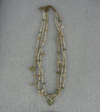Pueblo (unidentified). <em>Necklace</em>, 18th century. Shell, stones, 26 in. (66 cm). Brooklyn Museum, Gift of Percy Jackson, 43.156.8. Creative Commons-BY (Photo: Brooklyn Museum, CUR.43.156.8.jpg)