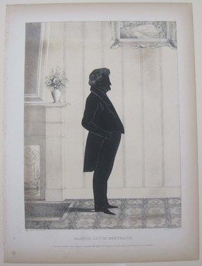 Edmond Burke Kellogg (American, 1809-1872). <em>Portrait Gallery of Distinguished American Citizens: Samuel Louis Southard</em>, 1844. Lithograph, Sheet: 16 13/16 x 12 3/8 in. (42.7 x 31.5 cm). Brooklyn Museum, Dick S. Ramsay Fund, 43.83.14 (Photo: Brooklyn Museum, CUR.43.83.14.jpg)