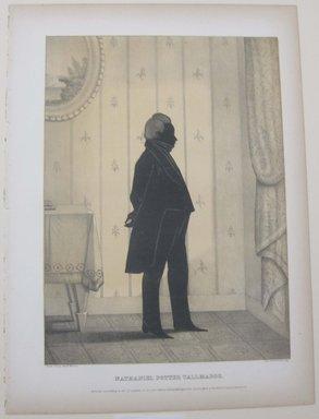 Edmond Burke Kellogg (American, 1809-1872). <em>Portrait Gallery of Distinguished American Citizens: Nathaniel Potter Tallmadge</em>, 1844. Lithograph, Sheet: 16 13/16 x 12 3/8 in. (42.7 x 31.5 cm). Brooklyn Museum, Dick S. Ramsay Fund, 43.83.24 (Photo: Brooklyn Museum, CUR.43.83.24.jpg)
