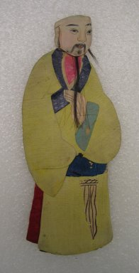 <em>Flat Doll</em>. Silk Brooklyn Museum, Gift of Mrs. Michael Tuch, 45.16.4. Creative Commons-BY (Photo: Brooklyn Museum, CUR.45.16.4_front.jpg)