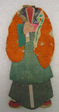<em>Flat Doll</em>. Silk Brooklyn Museum, Gift of Mrs. Michael Tuch, 45.16.5. Creative Commons-BY (Photo: Brooklyn Museum, CUR.45.16.5_front.jpg)
