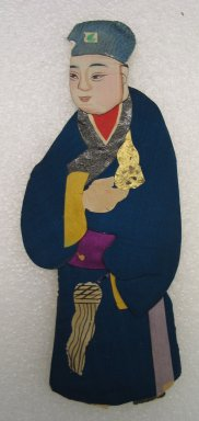 <em>Flat Doll</em>. Silk Brooklyn Museum, Gift of Mrs. Michael Tuch, 45.16.8. Creative Commons-BY (Photo: Brooklyn Museum, CUR.45.16.8_front.jpg)