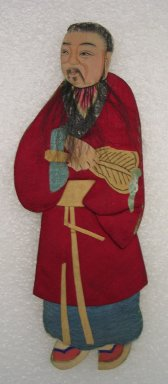 <em>Flat Doll</em>. Silk Brooklyn Museum, Gift of Mrs. Michael Tuch, 45.16.9. Creative Commons-BY (Photo: Brooklyn Museum, CUR.45.16.9_front.jpg)