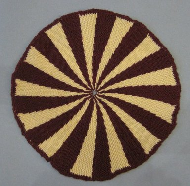 American. <em>Table Mats</em>, 20th century. Cotton, a: 13 in. (33 cm). Brooklyn Museum, Gift of Eleanor Curnow, 46.30.83a-I. Creative Commons-BY (Photo: Brooklyn Museum, CUR.46.30.83e.jpg)
