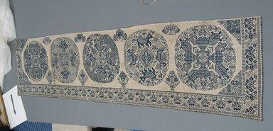 <em>Textile Used as a Bed Valance</em>, 1644-1912. Rough undyed cotton, 15 3/8 x 66 5/16 in. (39 x 168.5 cm). Brooklyn Museum, Caroline H. Polhemus Fund, 49.104.2 (Photo: Brooklyn Museum, CUR.49.104.2.jpg)