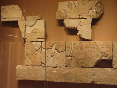 <em>Relief Blocks from the Tomb of the Vizier Nespeqashuty</em>, ca. 664-610 B.C.E. Limestone, 11 3/4 x 19 3/4 in. (29.8 x 50.2 cm). Brooklyn Museum, Charles Edwin Wilbour Fund, 52.131.20. Creative Commons-BY (Photo: Brooklyn Museum, CUR.52.131.4_52.131.5_52.131.6_52.131.8_52.131.9_52.131.10_52.131.13_52.131.14_52.131.15_52.131.17_52.131.18_52.131.19_52.131.20_mc.jpg)