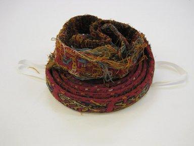 Nazca-Wari. <em>Headband</em>, 200-1000 C.E. Cotton, camelid fiber, warp: unascertainable. Brooklyn Museum, Gift of Richard Eisenmann, 52.9.6. Creative Commons-BY (Photo: Brooklyn Museum, CUR.52.9.6.jpg)